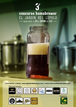 Cartel 3er Concurso Homebrewer Mediano